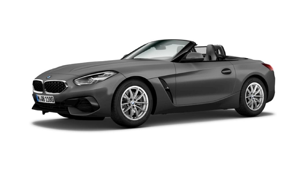 BMW  Z4 Frozen Grey Metallic Colour