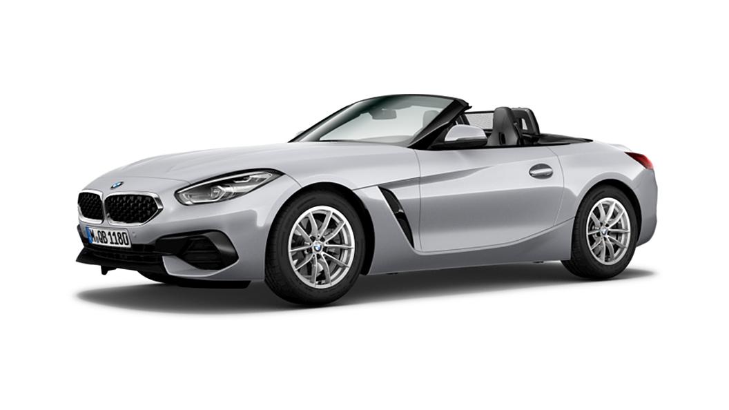 BMW  Z4 Glacier Silver Metallic Colour