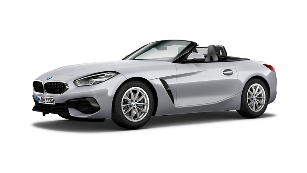 BMW  Z4 Glacier Silver Metallic Colour