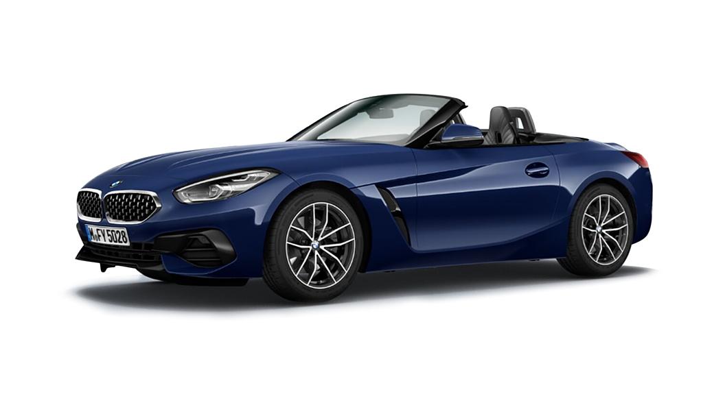 BMW  Z4 Mediterranean Blue Metallic Colour