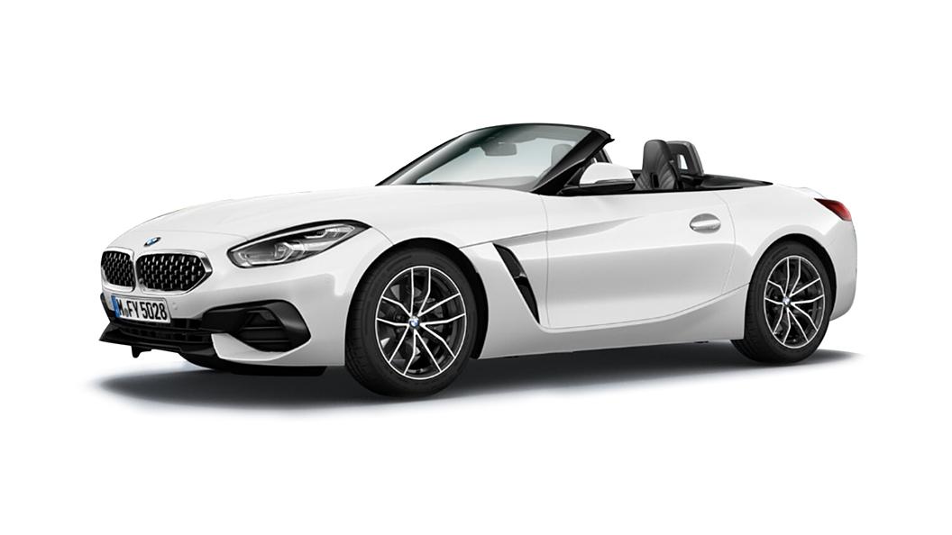 BMW  Z4 Mineral White Colour