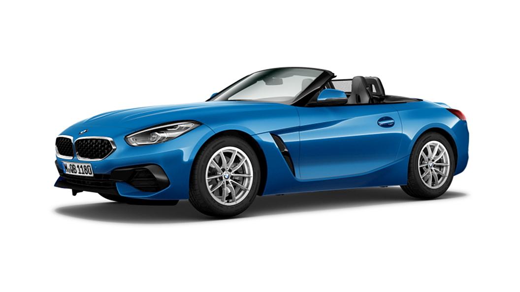 BMW  Z4 Misano Blue Metallic Colour