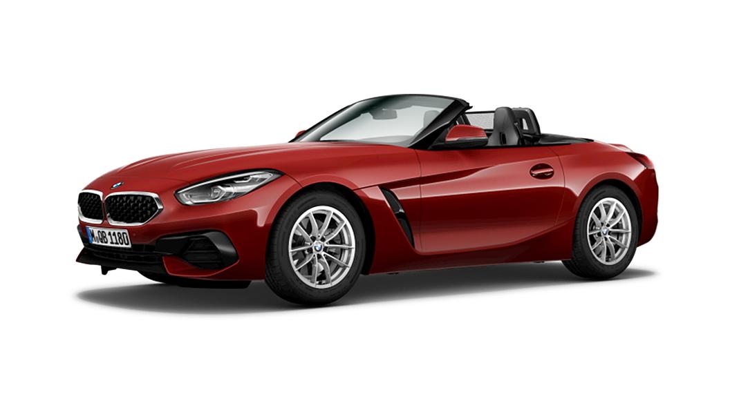 BMW  Z4 San Francisco Red Metallic Colour