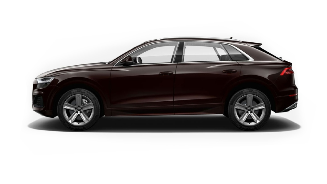 Audi  Q8 Barrique Brown Metallic Colour