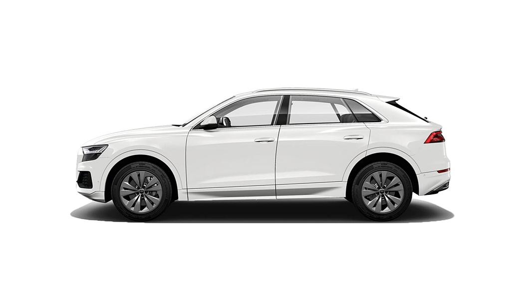 Audi  Q8 Carrara White Metallic Colour