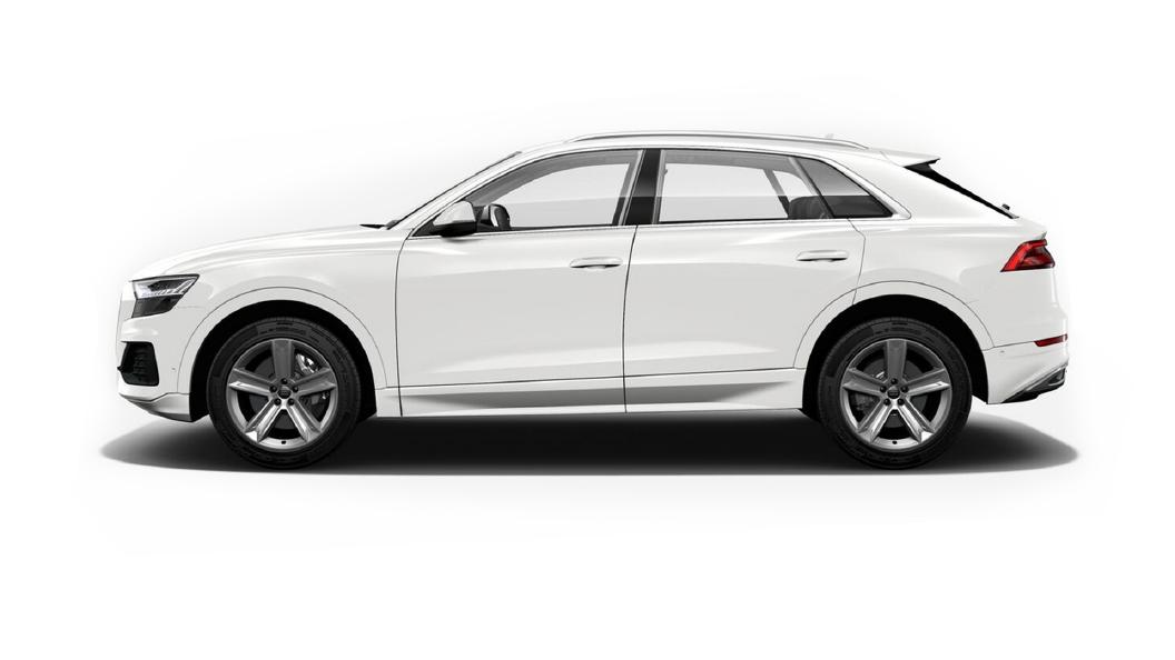 Audi  Q8 Carrara White Colour