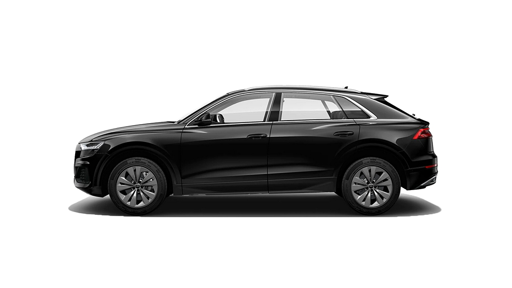 Audi  Q8 Deep Black Metallic Colour