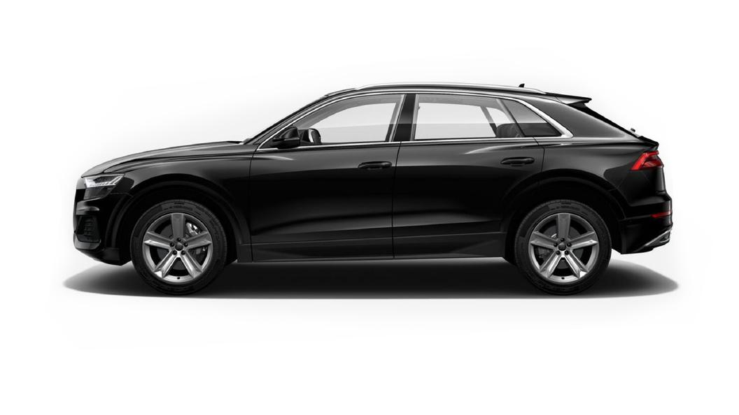 Audi  Q8 Deep Black Colour
