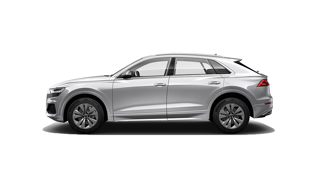 Audi  Q8 Floret Silver Metallic Colour