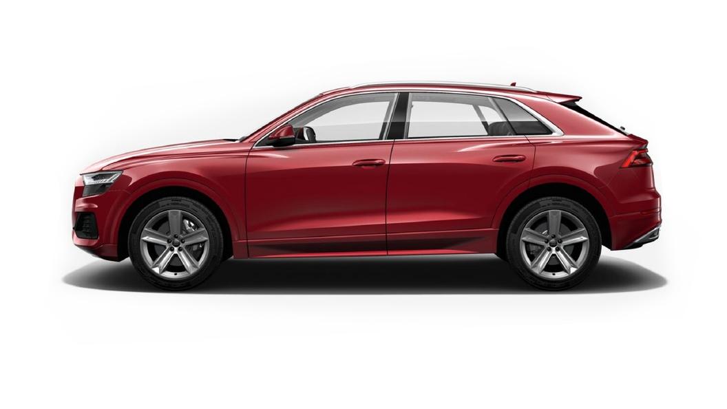 Audi  Q8 Matador Red Metallic Colour