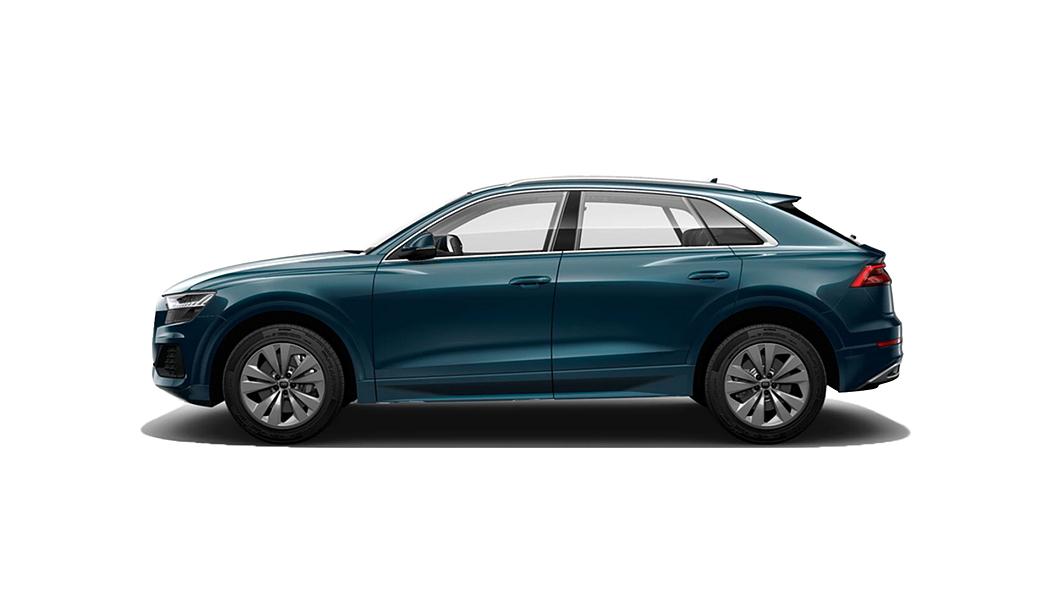 Audi  Q8 Navarra Blue Metallic Colour