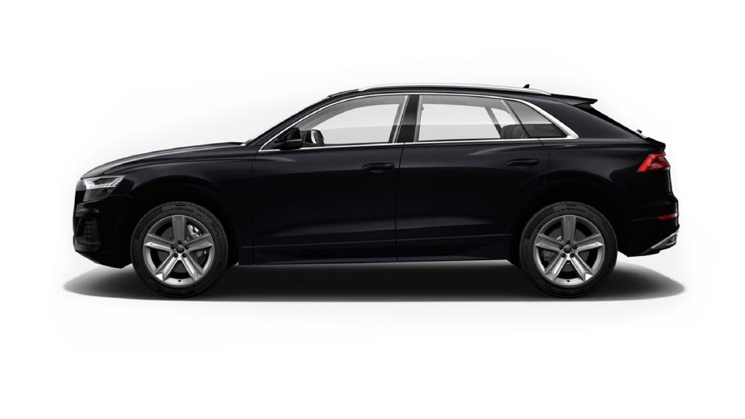 Audi  Q8 Orca Black Metallic Colour