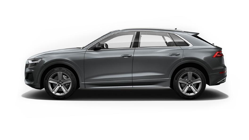 Audi  Q8 Samurai Gray Metallic Colour