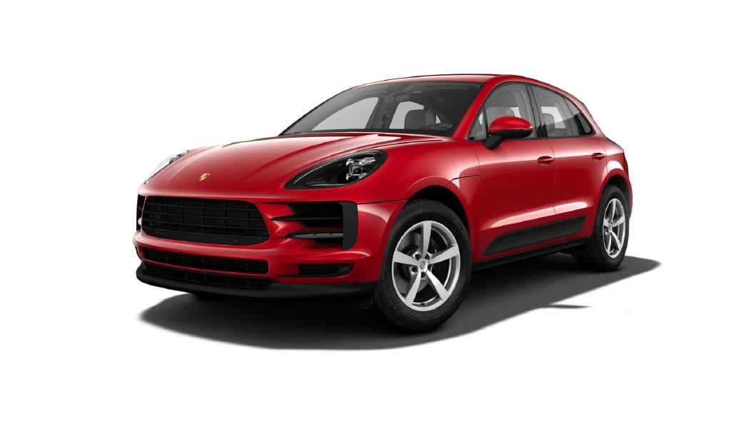 Porsche  Macan Carmine Red Colour