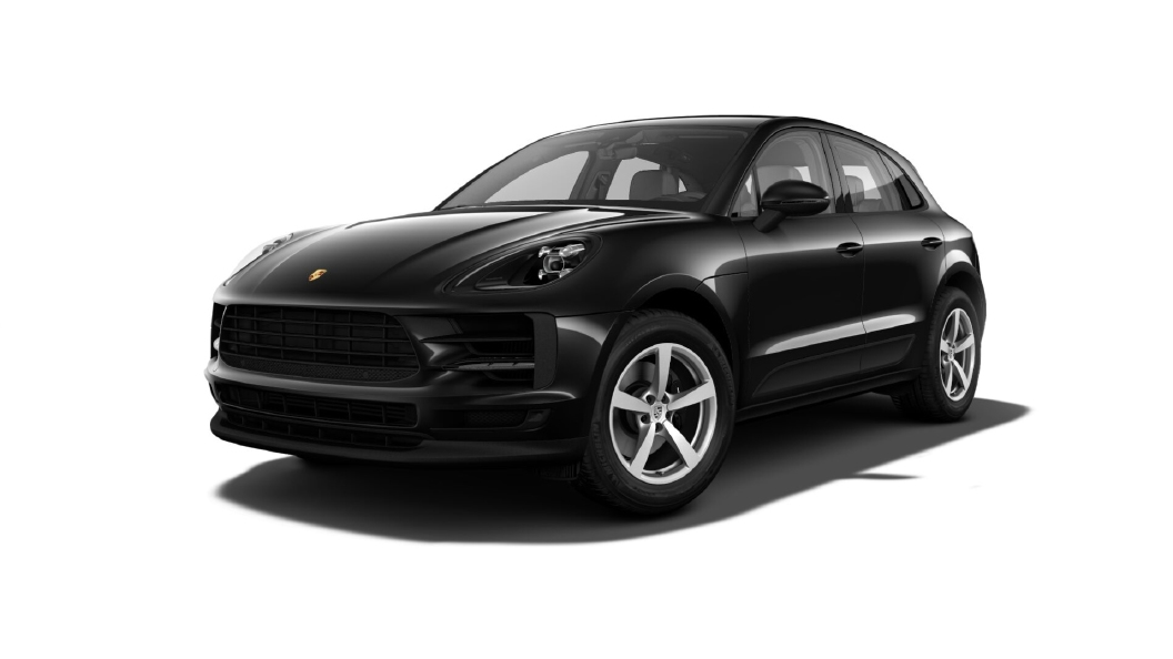 Porsche  Macan Jet Black Metallic Colour