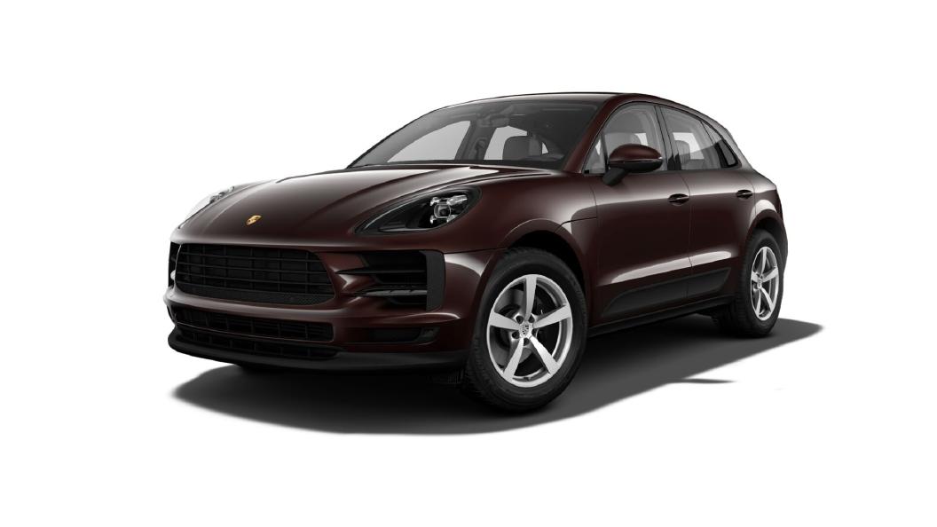 Porsche  Macan Mahogany Metallic Colour