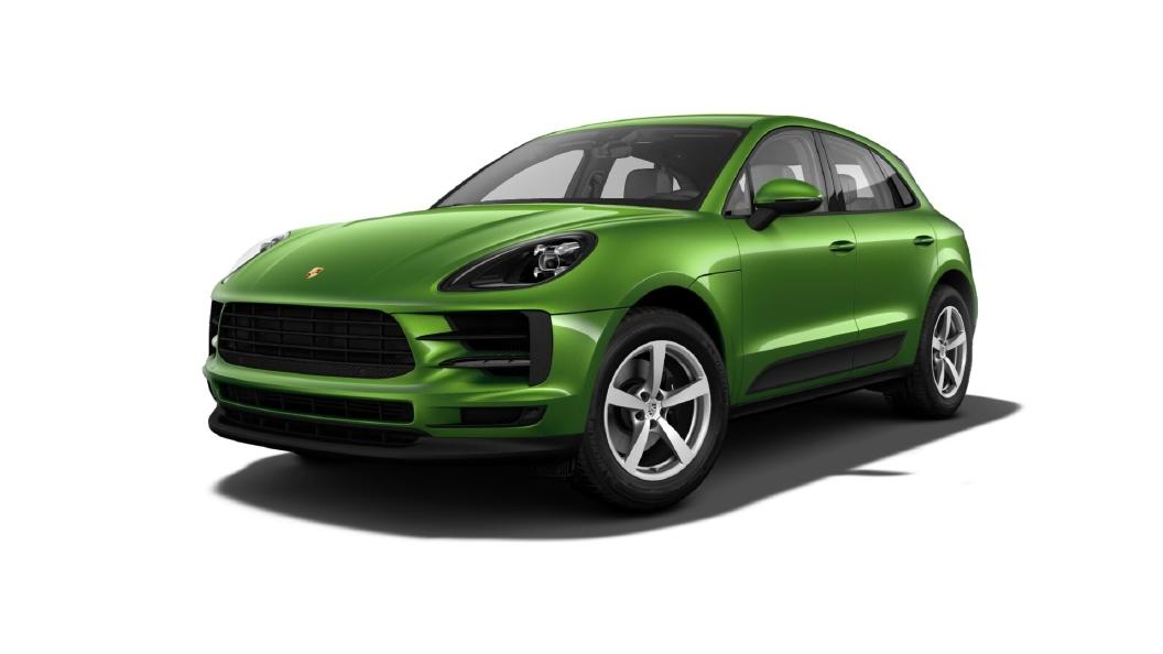 Porsche  Macan Mamba Green Metallic Colour