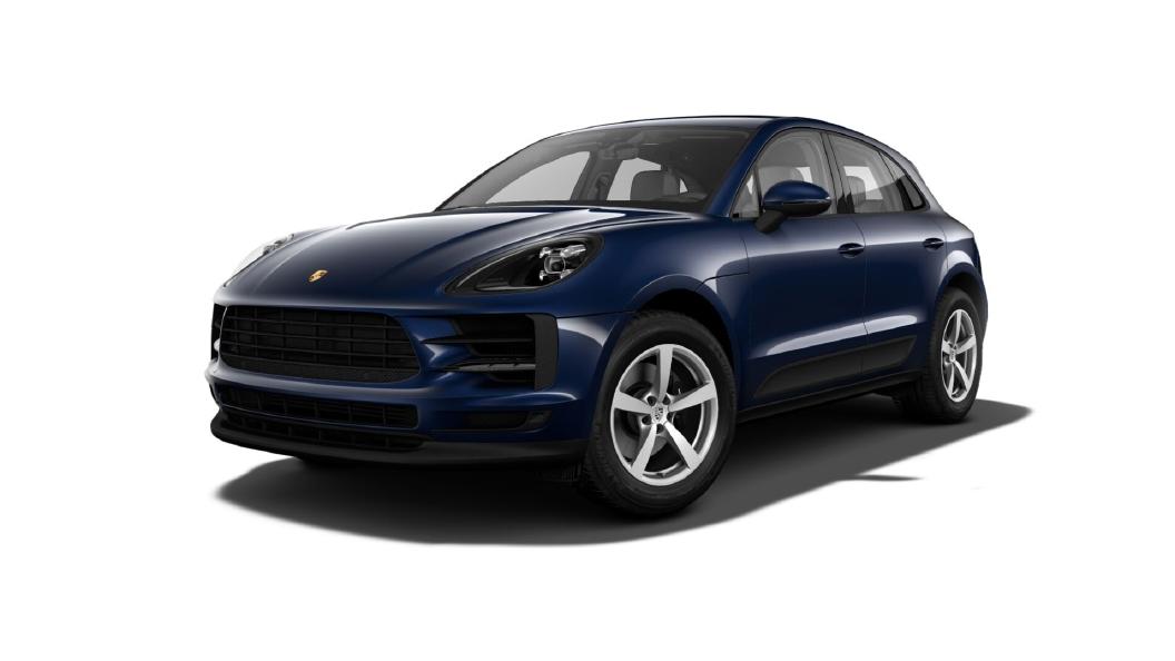 Porsche  Macan Night Blue Metallic Colour