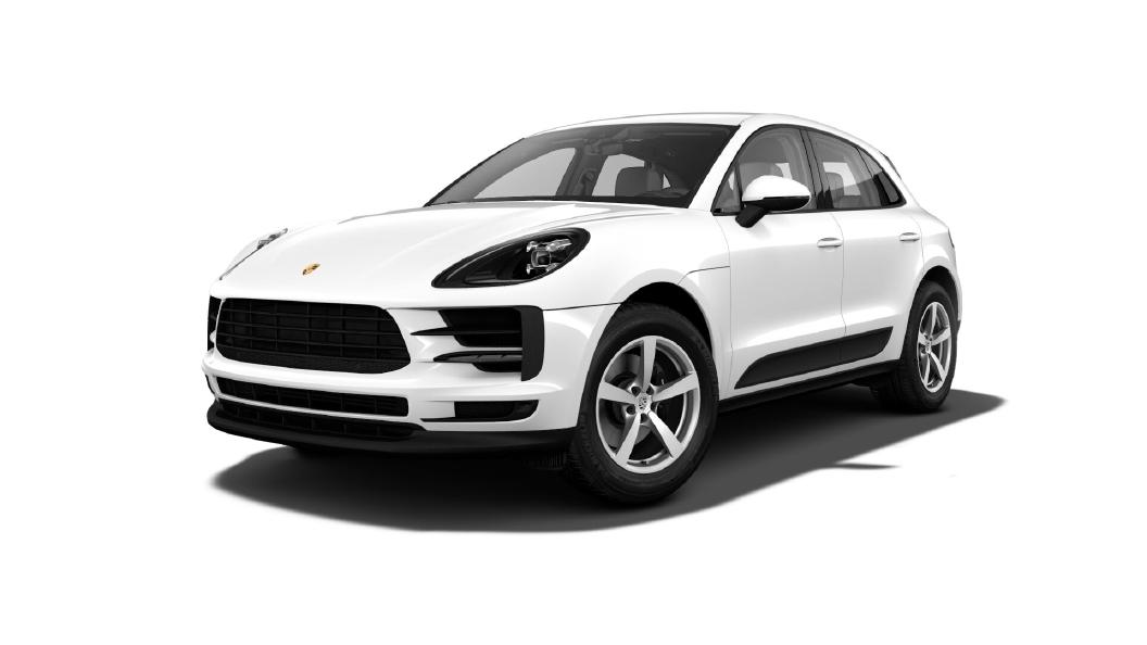 Porsche  Macan White Colour