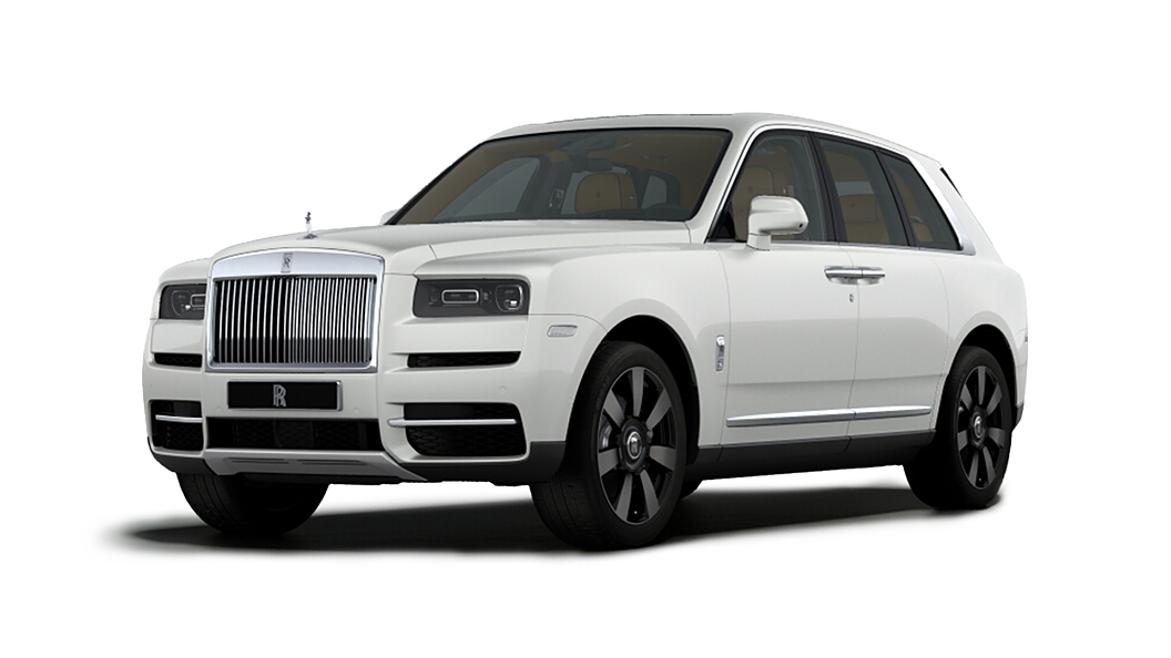 Rolls-Royce  Cullinan  English White Colour