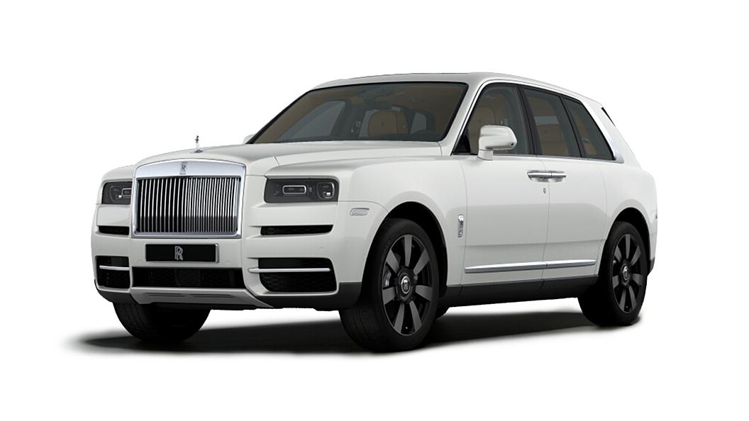 Rolls-Royce  Cullinan  English White Colour