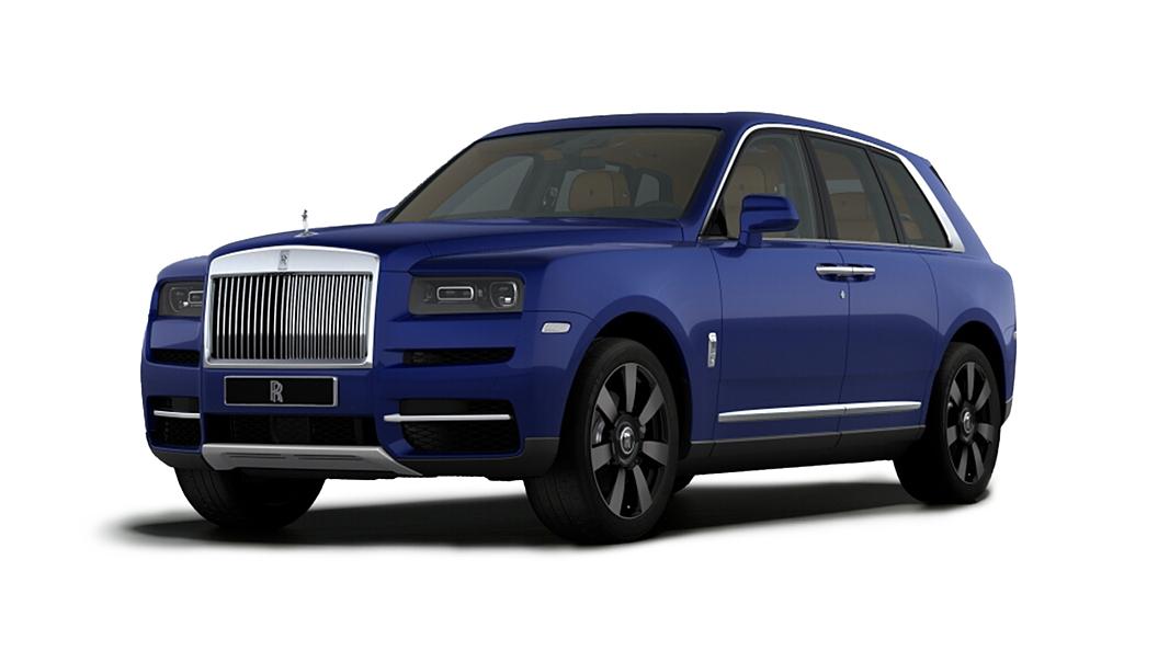 Rolls-Royce  Cullinan  Salamanca Blue Colour