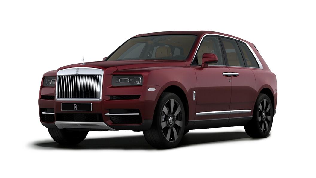 Rolls-Royce  Cullinan  Scala Red Colour