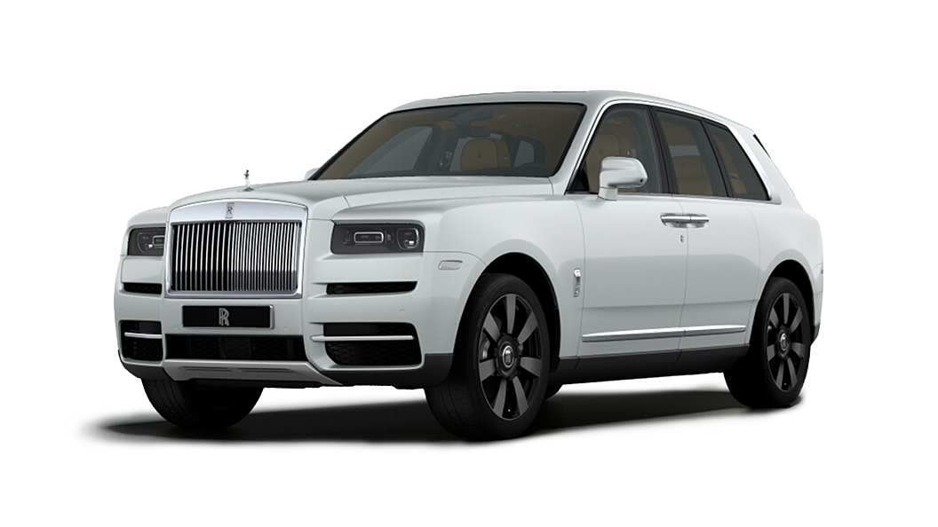Rolls-Royce  Cullinan Arctic White Colour