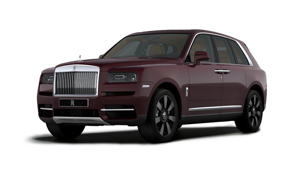 Rolls-Royce  Cullinan Bohemian Red Colour