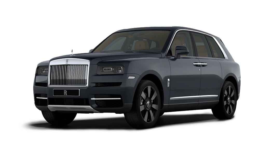 Rolls-Royce  Cullinan Darkest Tungsten Colour