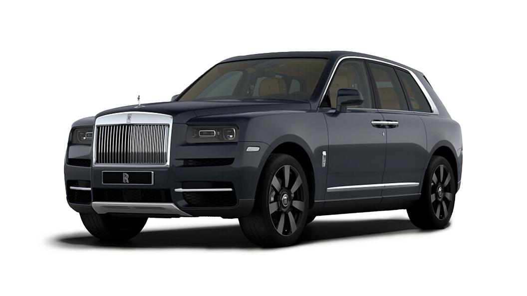 Rolls-Royce  Cullinan Darkest Tungsten Colour