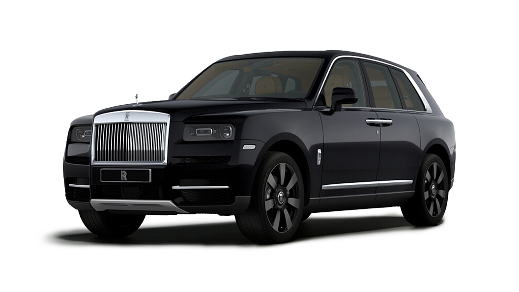Rolls-Royce  Cullinan Diamond Black Colour