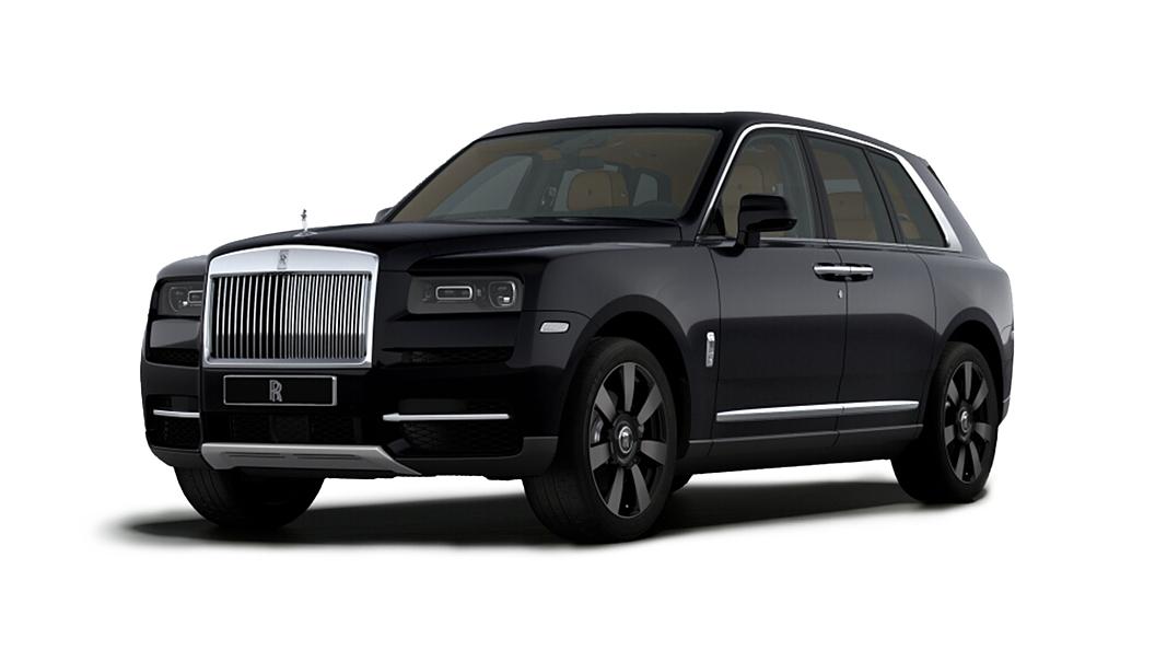 Rolls-Royce  Cullinan Diamond Black Colour