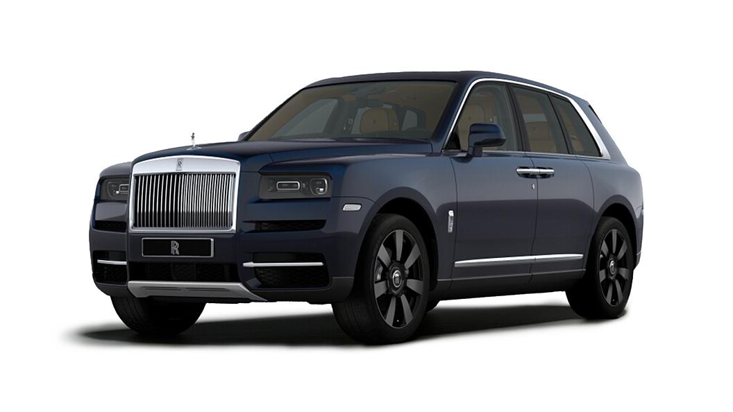 Rolls-Royce  Cullinan Midnight Blue Colour