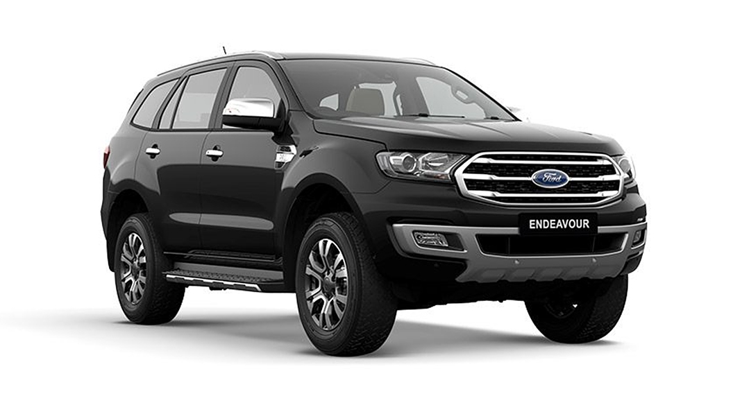Ford  Endeavour Absolute Black Colour