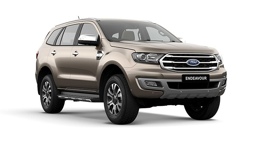 Ford  Endeavour Diffused Silver Colour