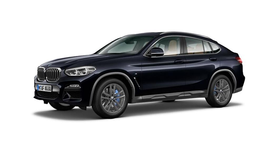 BMW  X4 Carbon Black Metallic Colour