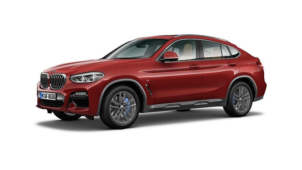 BMW  X4 Flamenco Red Brilliant Effect Metallic Colour