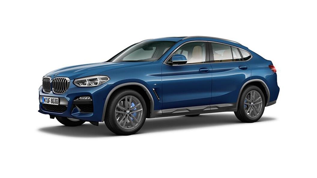 BMW  X4 Phytonic Blue Metallic Colour