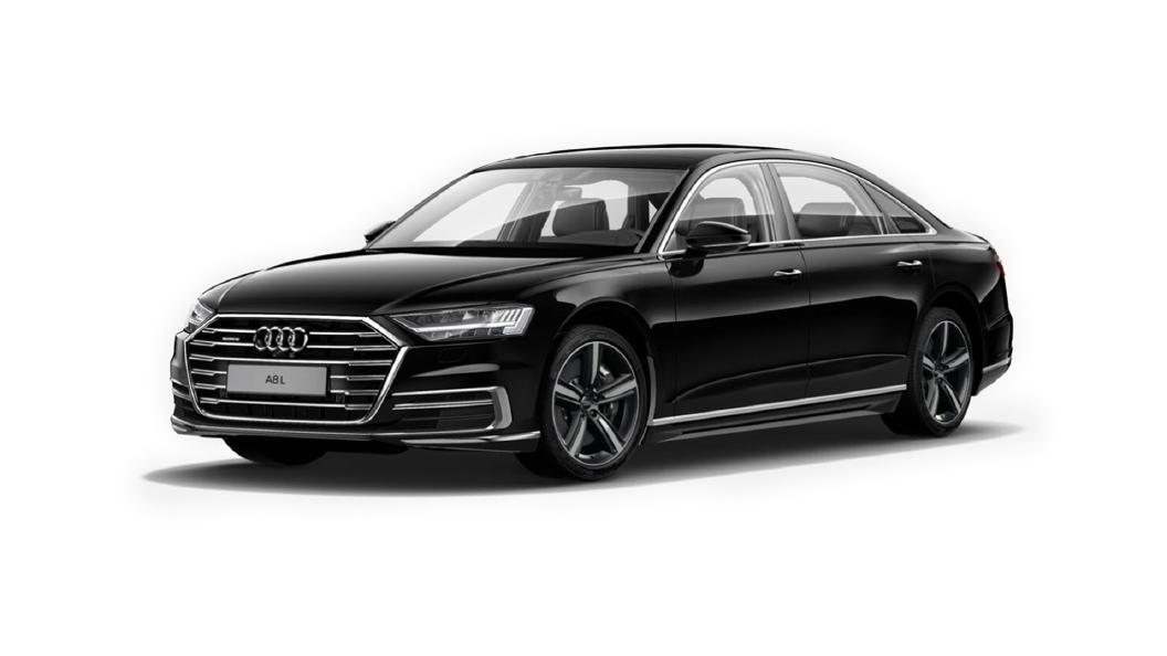 Audi  A8 L Brilliant Black Colour