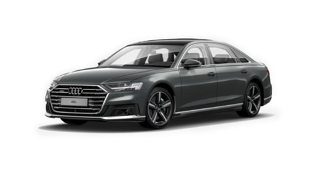Audi  A8 L Daytona Gray Pearlescent Colour
