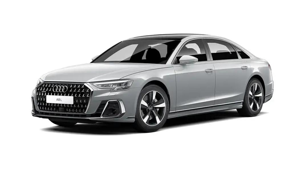 Audi  A8 L Floret Silver Metallic Colour
