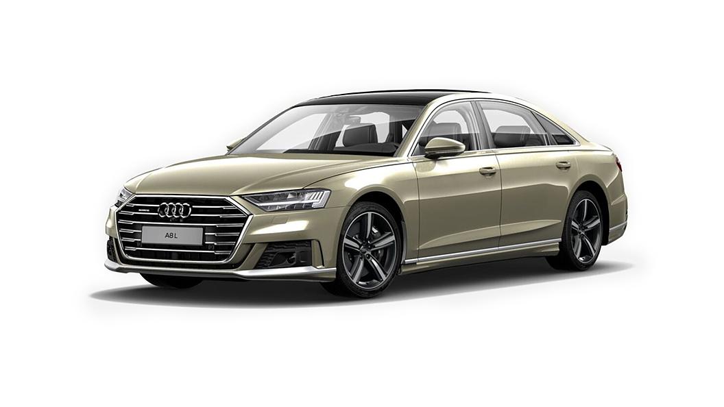 Audi  A8 L Impala Beige Pearl effect Colour