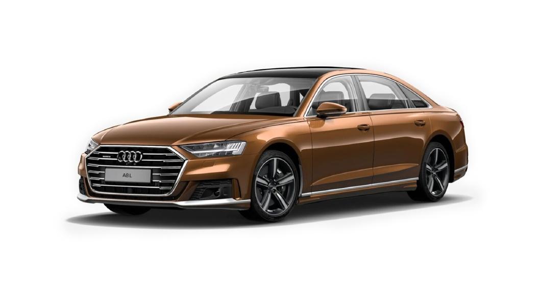 Audi  A8 L Ipanema Brown Metallic Colour