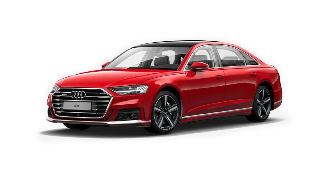 Audi  A8 L Misano Red Pearl Effect Colour