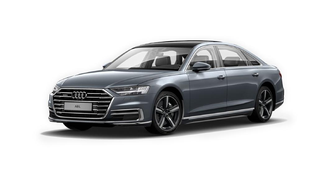 Audi  A8 L Monsoon Gray Metallic Colour