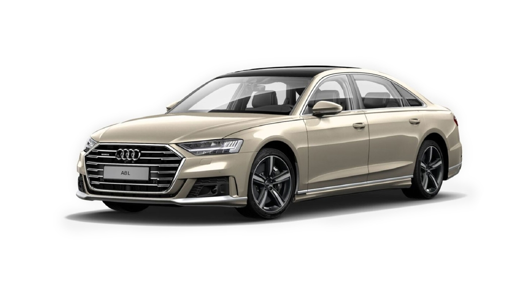 Audi  A8 L Sandbeige Perleffekt Colour
