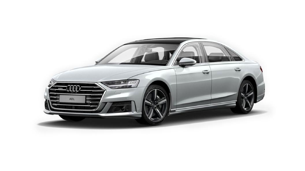 Audi  A8 L Suzuka Grey Metallic Colour