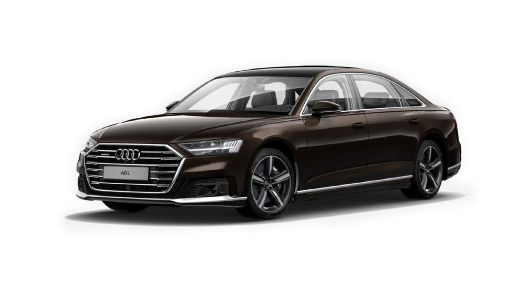 Audi  A8 L Teakbraun Metallic Colour