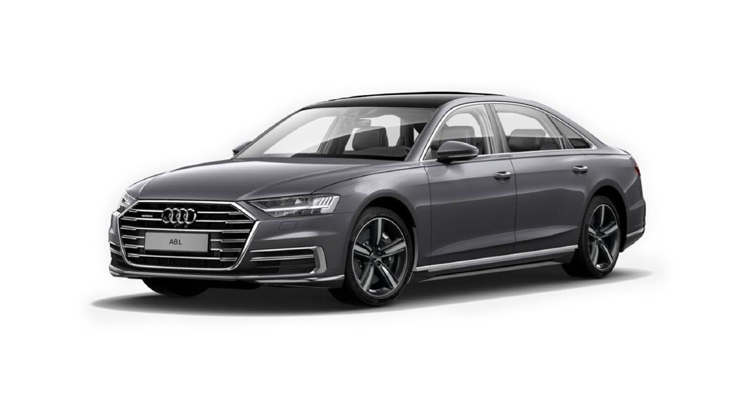 Audi  A8 L Terra Gray Metallic Colour